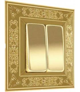 Выключатель FEDE серии Granada Bright Gold
