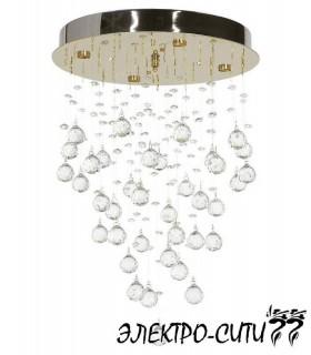 Люстра потолочная с зеркалом Arti Lampadari Brancati L 1.4.45.501 N, Никель