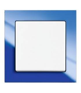 ABB Выключатель серии Busch-axcent синий/белый
