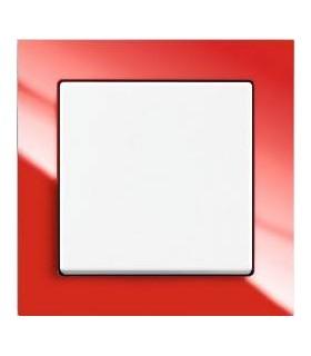 ABB Выключатель серии Busch-axcent красный/белый