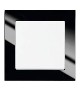 ABB Выключатель серии Busch-axcent чёрный/белый