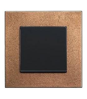Выключатель ABB серии carat бронза/антрацит