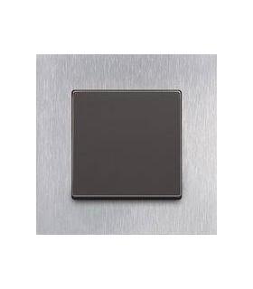 Выключатель ABB серии carat сталь/антрацит