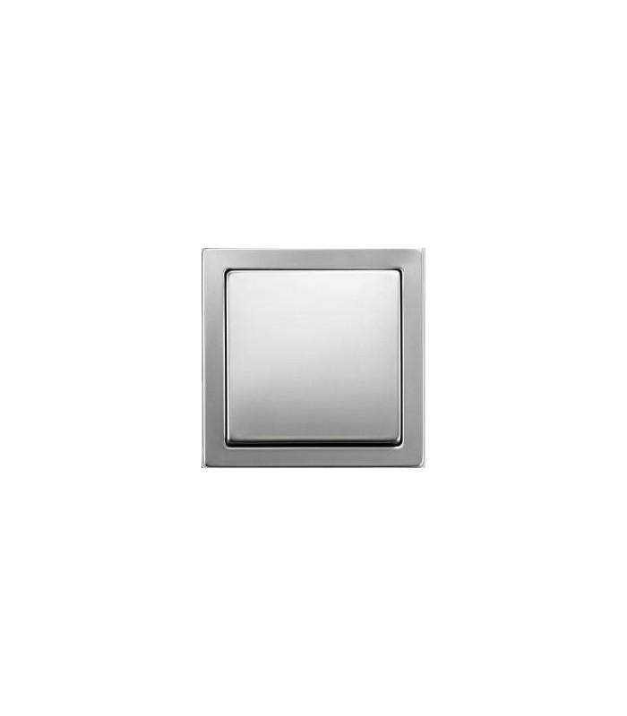 Выключатель ABB серии Pure сталь