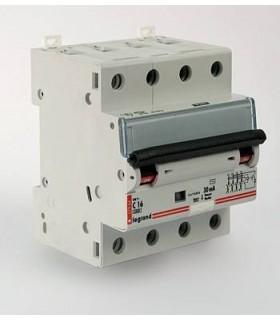 Автоматический выключатель Legrand DX3 4 фазы 16A 4М (Тип C) 6 kA