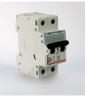 Автоматический выключатель Legrand DX3 2 фазы 10A 2М (Тип C) 6 kA