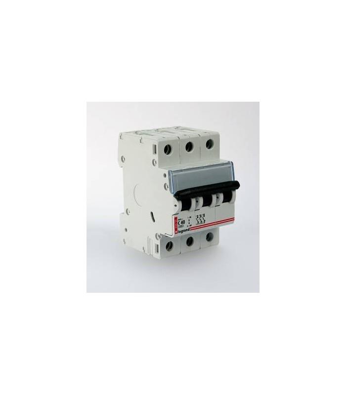 Автоматический выключатель Legrand DX3 3 фазы 40A 3М (Тип C) 6 kA