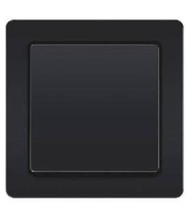 Выключатель Berker серии Q.1 черный бархат