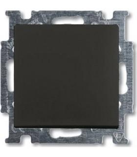 Выключатель одноклавишный ABB Basic 55, шато