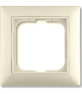 Рамка на 1 пост, ABB Basic 55, слоновая кость