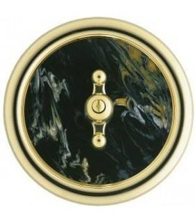 Выключатель Berker серии Palazzo черный мрамор