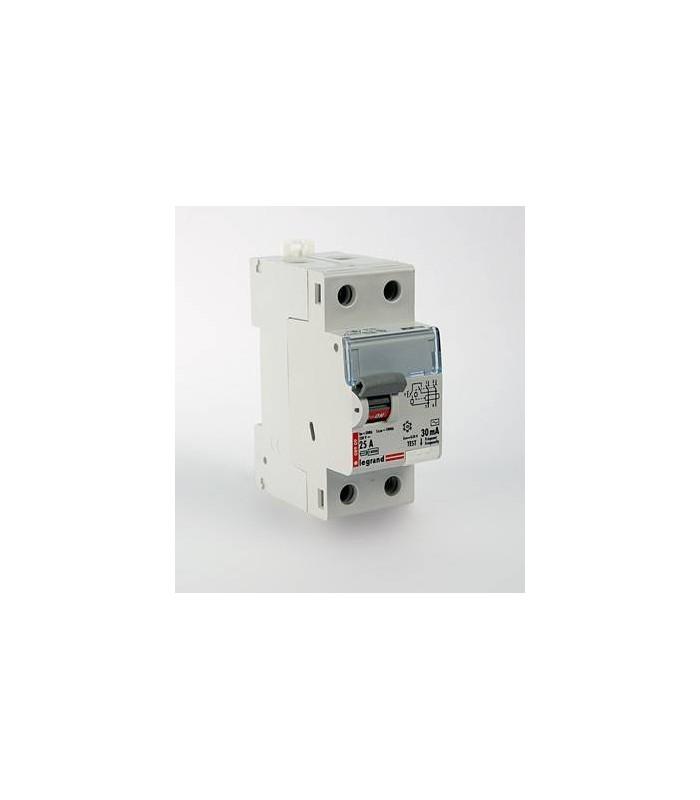 Устройство защитного отключения (УЗО) Legrand DX3 2 полюса 30mA 25А 2М (AC)
