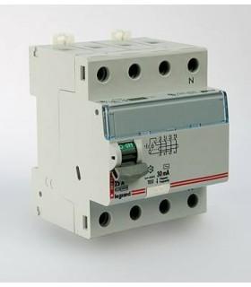 Устройство защитного отключения (УЗО) Legrand DX3 4 полюса 30mA 63А 4М (AC)