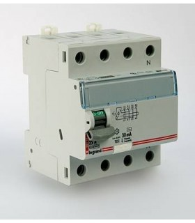 Устройство защитного отключения (УЗО) Legrand DX3 4 полюса 30mA 80А 4М (AC)