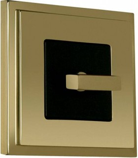 Поворотный выключатель в сборе FEDE Madrid, bright gold