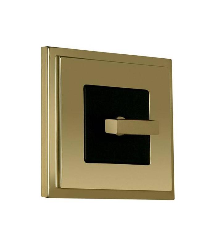 Поворотный выключатель FEDE серии Madrid Bright Gold
