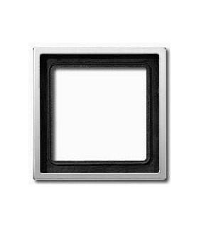 Рамка на 1 пост JUNG LS 990, алюминий