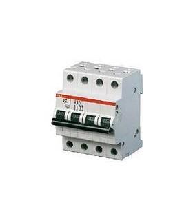 Автоматический выключатель ABB 4-полюсный S204 C6