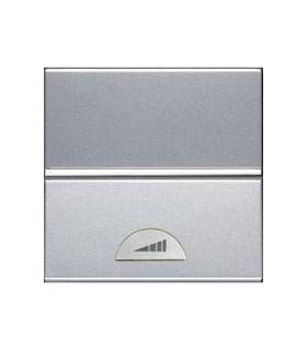 ABB Niessen Zenit Серебро Светорегулятор нажимной 40-450Вт