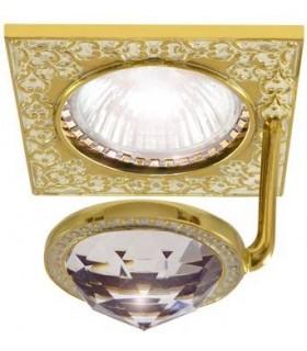 Точечный светильник FEDE CRYSTAL DE LUXE FD1033CLOP