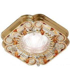 Точечный светильник FEDE CRYSTAL DE LUXE FD1007ROPCL