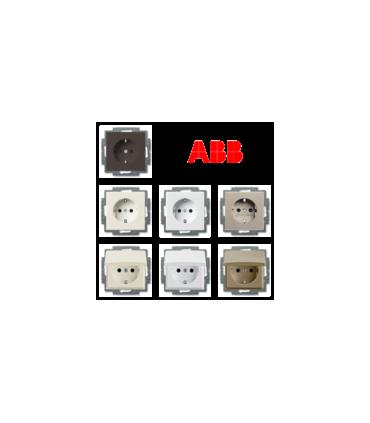 Механизмы розеток и накладки ABB