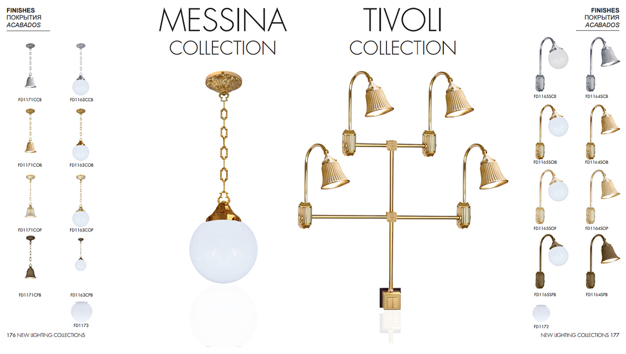 FEDE MESSINA COLLECTION, FEDE TIVOLI COLLECTION