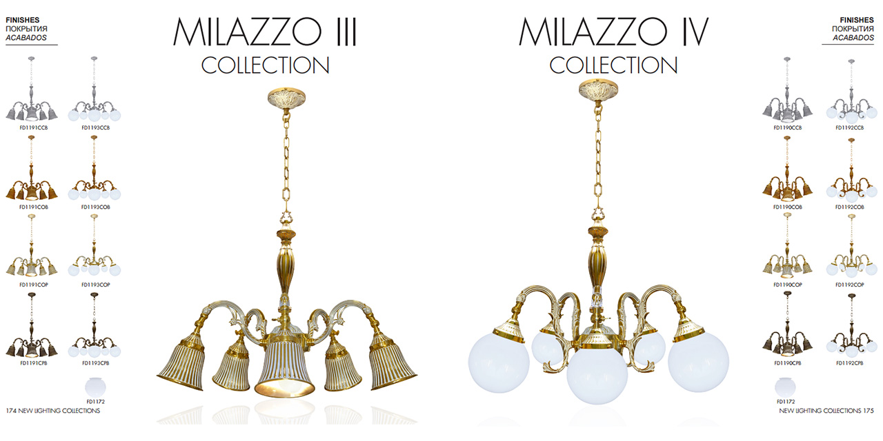 FEDE MILAZZO III COLLECTION, FEDE MILAZZO IV COLLECTION