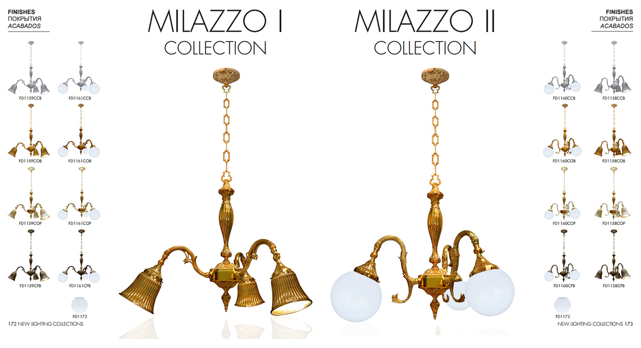 FEDE MILAZZO I COLLECTION, FEDE MILAZZO II COLLECTION